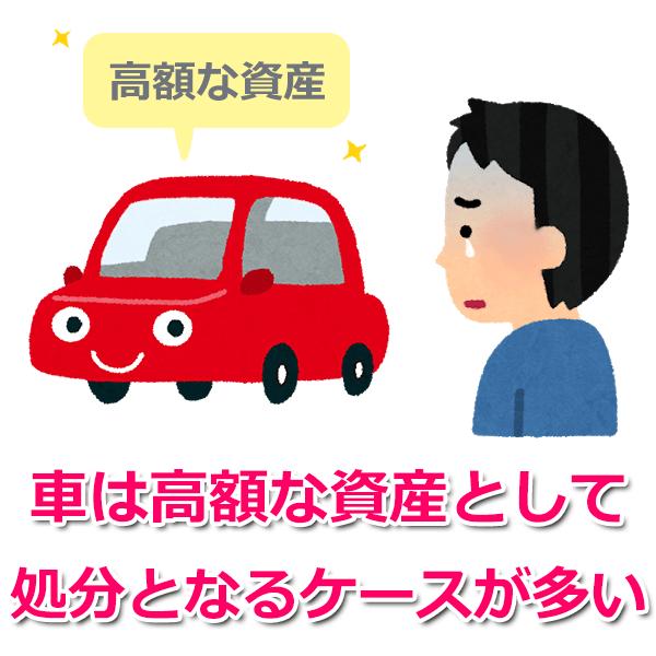自己破産すると車はどうなる?