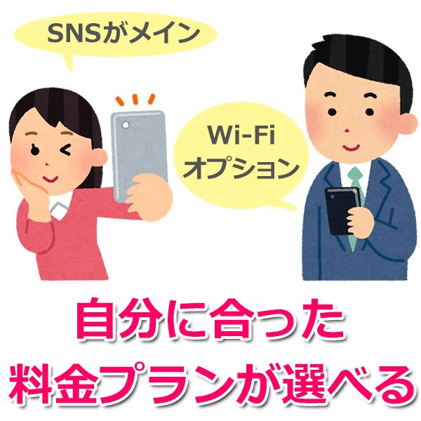 月額500円~で利用できる格安スマホ・SIMの「LINEモバイル」